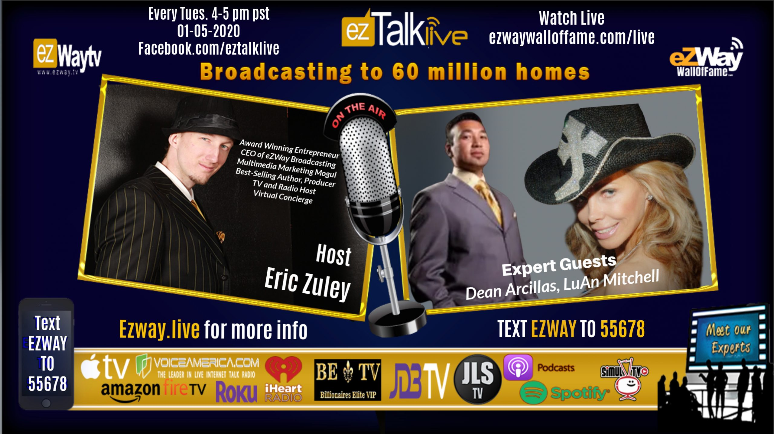 EZ TALK LIVE 01-26-2021 Behind the mind of The Most Successful Feat. Omar Periu