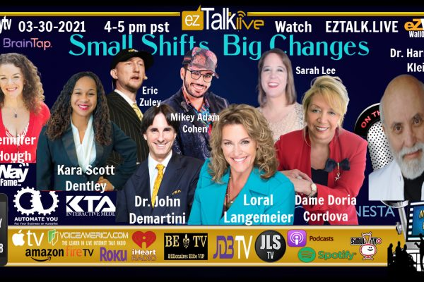 Eric Zuley EZ TALK LIVE Small Shifts Big Changes Panel with Braintap