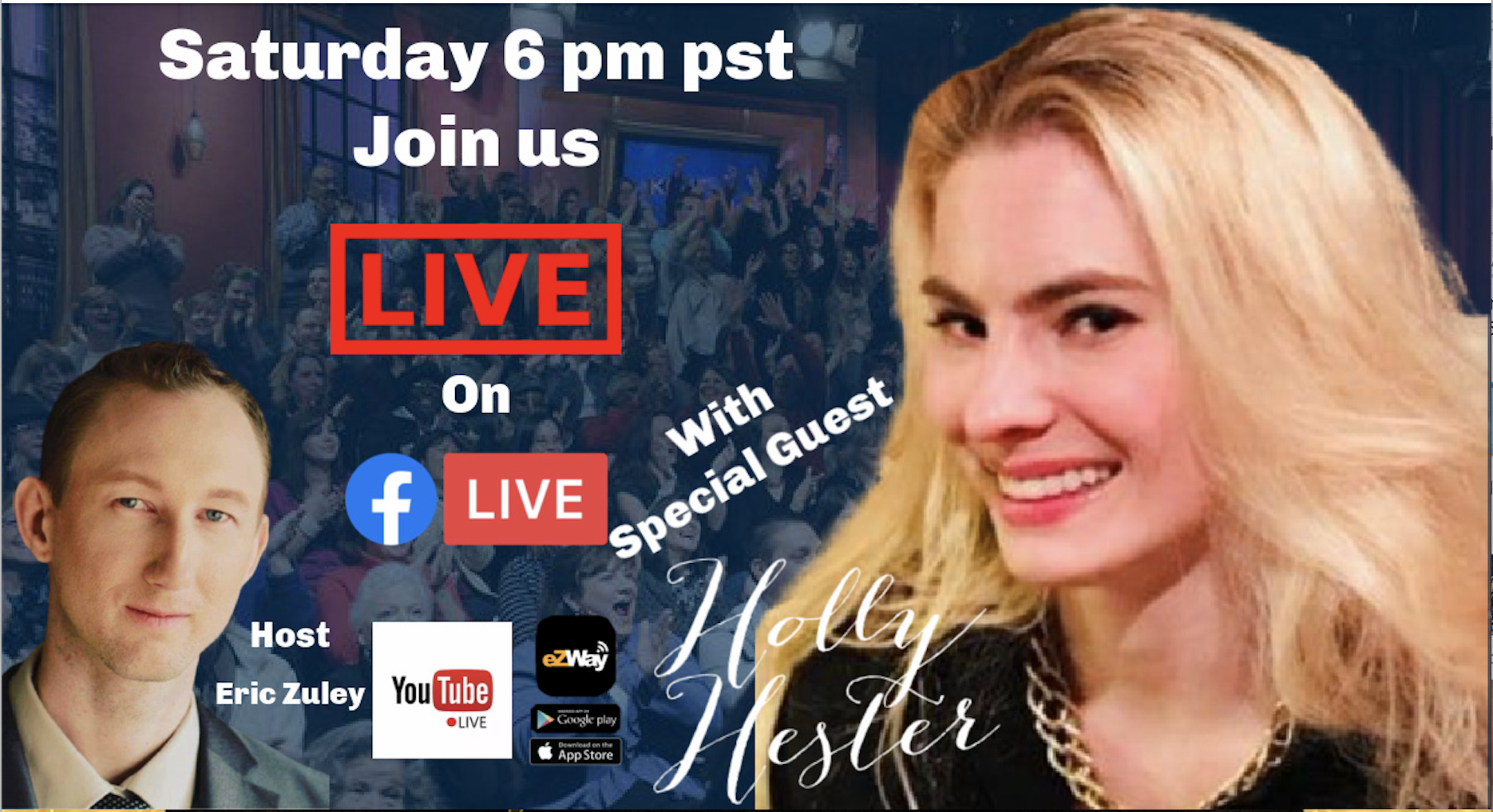 Minister Holly Hester eZWay Live Interview