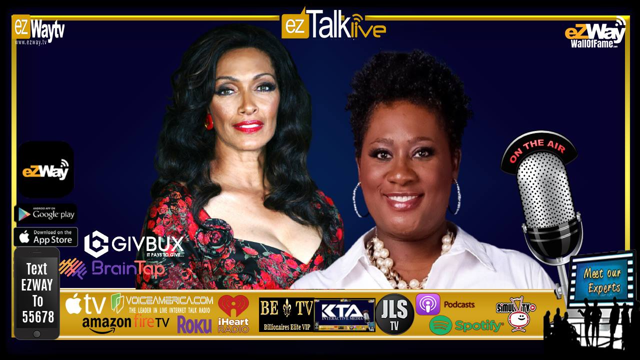 EZ TALK LIVE with Eric Zuley. Feat. Actress/Singer/Supermodel Kathleen Bradley and Keever Lernise Murdaugh!