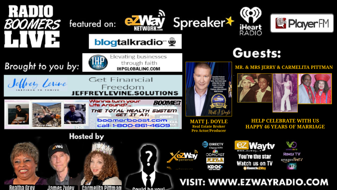 RBL on eZWay Radio with James Zuley and Reatha Grey An eZWay Xperience you won't forget!