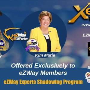 Shadow Q & A with Kim Marie eZWay Expert Shadowing Program