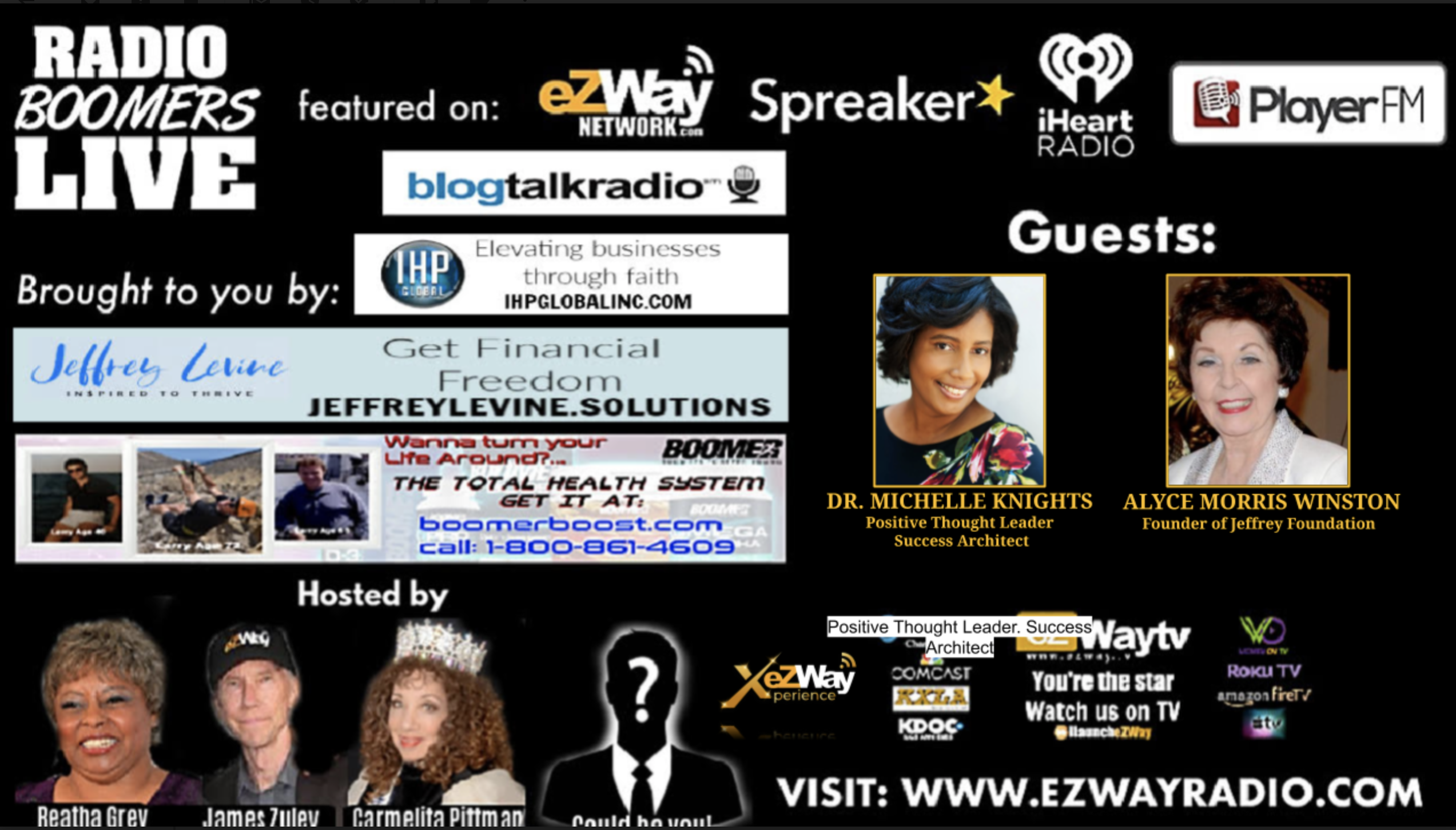 RBL LIVE Feat. Dr. Michelle Knights and Alyce Morris Winston